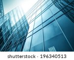 panoramic and perspective wide... | Shutterstock . vector #196340513