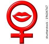 female love concept | Shutterstock . vector #19634767