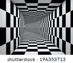 Checkered Black And White...
