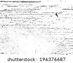grunge texture. vector... | Shutterstock .eps vector #196376687