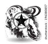 grunge background | Shutterstock .eps vector #196380857