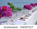 wedding set up | Shutterstock . vector #196507217