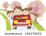 an image of driving in spring | Shutterstock . vector #196570553