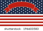 4th of july independence day... | Shutterstock .eps vector #196603583