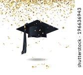achievement,anniversary,art,award,black,cap,celebrations,ceremony,concepts,confetti,copy,decoration,education,events,excitement
