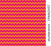 Tile Pink And Orange Zig Zag...
