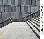 Geometric Modern Wall Stairs Leading - Fine Art prints