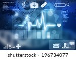 health data | Shutterstock . vector #196734077