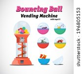 Vending Machine Toys   Vector...