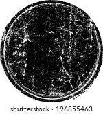 grunge rubber stamp  | Shutterstock .eps vector #196855463