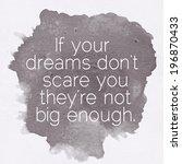 inspirational motivating quote... | Shutterstock . vector #196870433