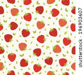 seamless pattern with... | Shutterstock .eps vector #196903607