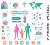 medical infographic set. | Shutterstock .eps vector #196953683
