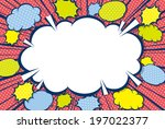 speech bubbles | Shutterstock .eps vector #197022377