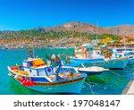 Traditional Fishing Boats At...