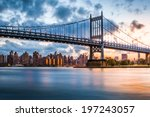 robert f. kennedy bridge  aka... | Shutterstock . vector #197243057