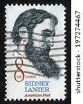 usa  circa 1971  postage stamp... | Shutterstock . vector #197274467