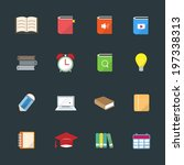 learning education color icon...
