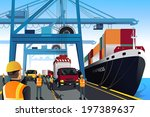 adult,auto,automobile,boat,business,car,cargo,cartoon,clip-art,clipart,commerce,commercial,containers,crane,deliver