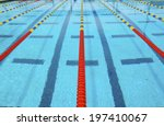 Lanes Of A Competition Swimmin...