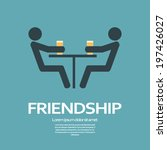 friendship concept illustration ... | Shutterstock .eps vector #197426027