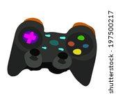 gamepad icon. vector isometric...