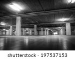 parking garage at the airport... | Shutterstock . vector #197537153