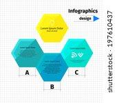 modern layout design  flat...   Shutterstock .eps vector #197610437