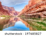 Reflection Of Grand Canyon In...