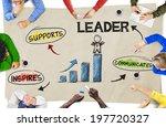 group of multiethnic people... | Shutterstock . vector #197720327
