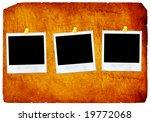 old paper   instant photo    Shutterstock . vector #19772068