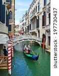 italy venice  august 25  walks... | Shutterstock . vector #197730437
