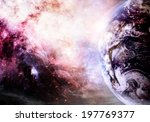Artist Rendition Of Earth And...
