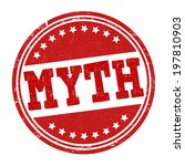 myth grunge rubber stamp on...   Shutterstock .eps vector #197810903