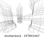 architecture building | Shutterstock . vector #197841467