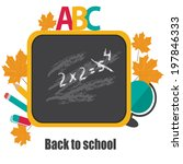 back to school.vector | Shutterstock .eps vector #197846333