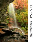 A Waterfall During Fall Of The...