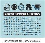 200 web  ecommerce  travel ... | Shutterstock .eps vector #197993117