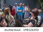 luhansk  ukraine   june 9  2014 ...   Shutterstock . vector #198126353