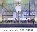 shanghai june 5  2014. apple... | Shutterstock . vector #198133157