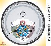 moving coil galvanometer d... | Shutterstock .eps vector #198169457