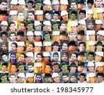 american guy | Shutterstock . vector #198345977