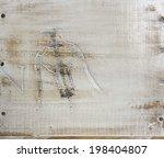corkscrew on a white wood... | Shutterstock . vector #198404807