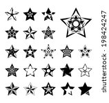 star  vector icons | Shutterstock .eps vector #198424247