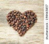 Heart Shaped Black Pepper Blac...