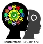 early education. concept sign...   Shutterstock . vector #198584573