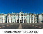 winter palace  hermitage museum ...   Shutterstock . vector #198655187