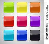 colored application icons for... | Shutterstock . vector #198718367