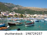 some boats in the petrvac... | Shutterstock . vector #198729257
