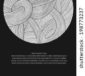 abstract hand drawn vector